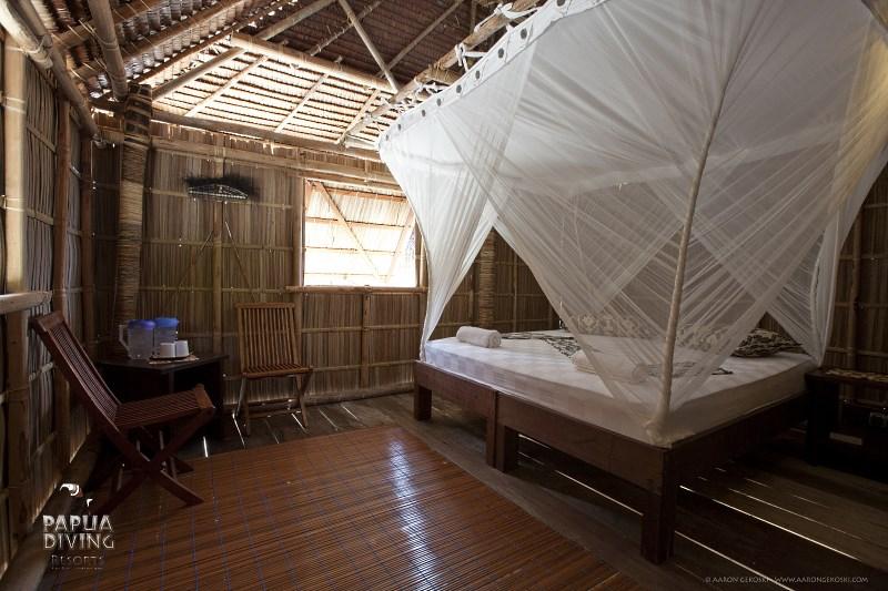 Superior Cottage bedroom.