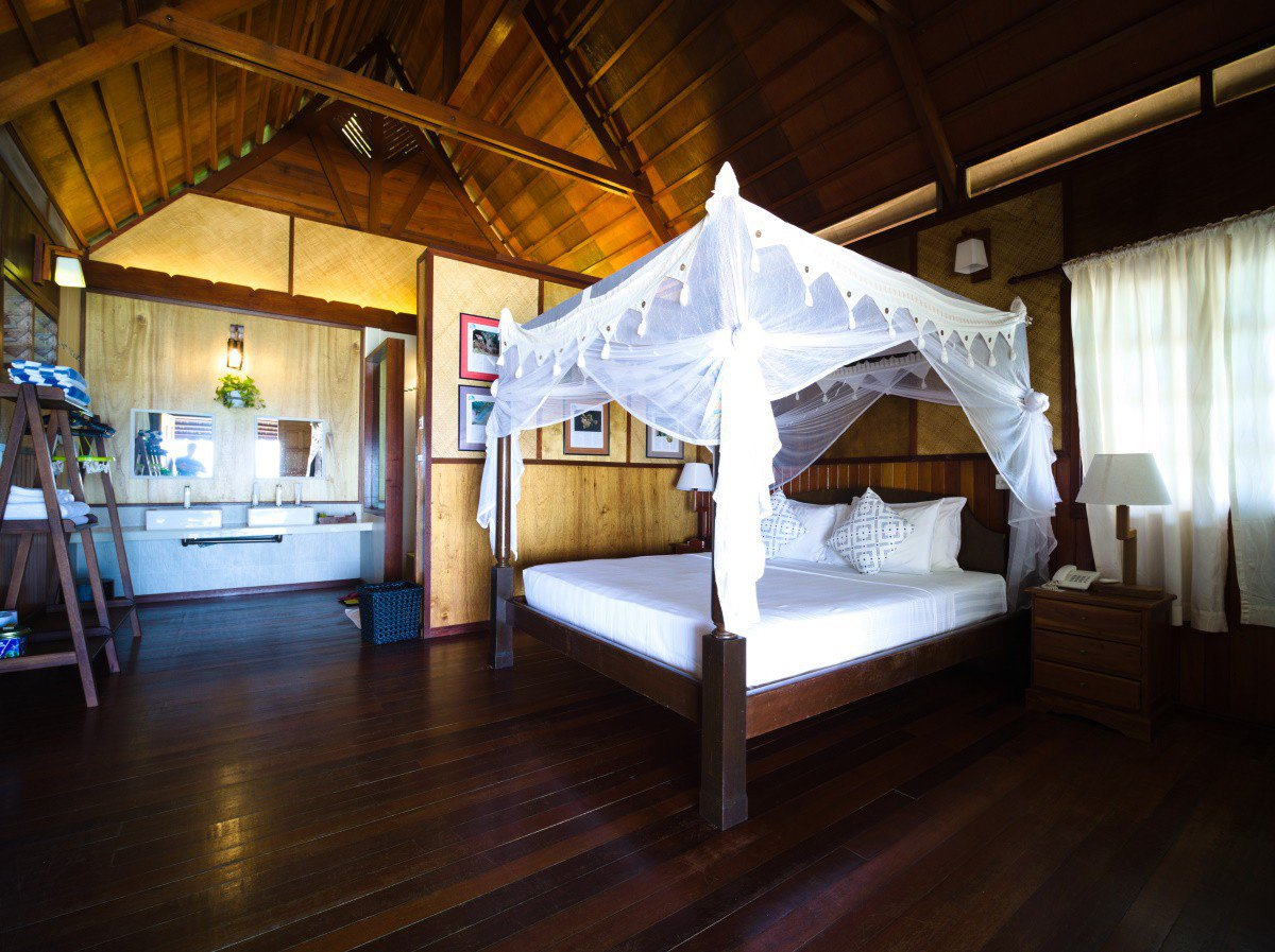 Design B Beach Chalet can accommodate up to 2 persons.