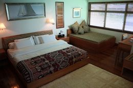 Borneo Villa Suite bedroom view.