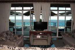 Royale Villa Suite living room.