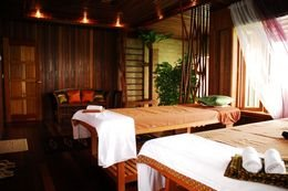 Treat yourself to a rejuvenating spa at the Kaandaman Spa after a long day's diving.