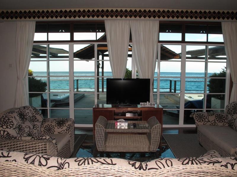 Royale Villa Suite living room.