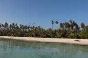 Beach chalets.