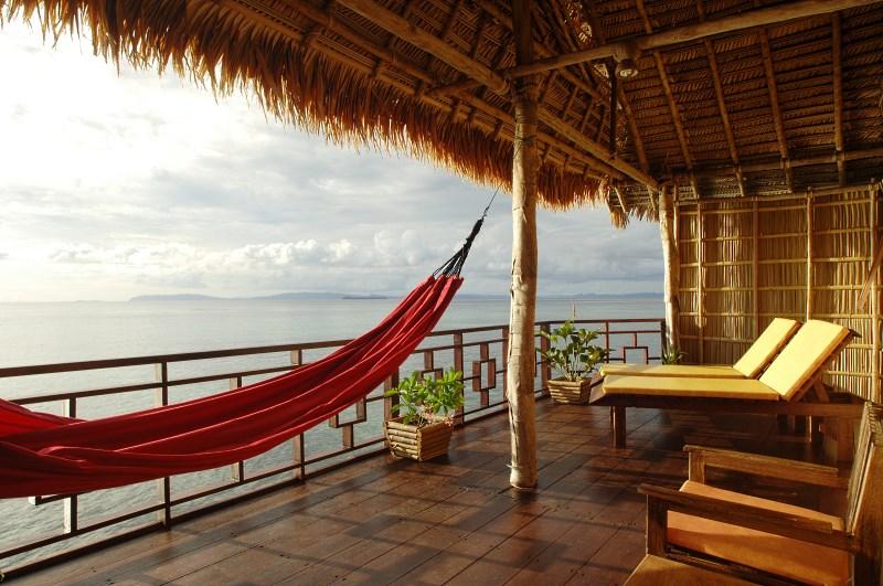 Superior Room balcony.