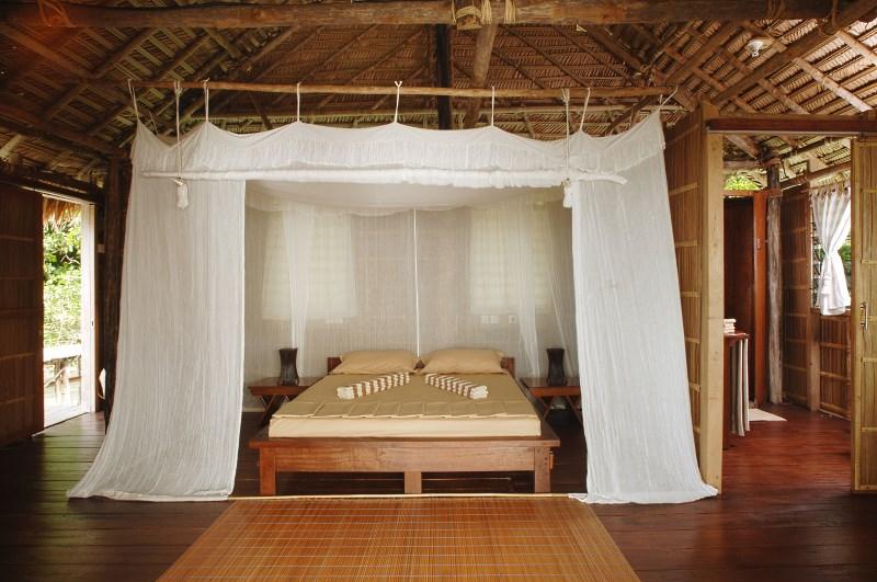 Superior Room bedroom.