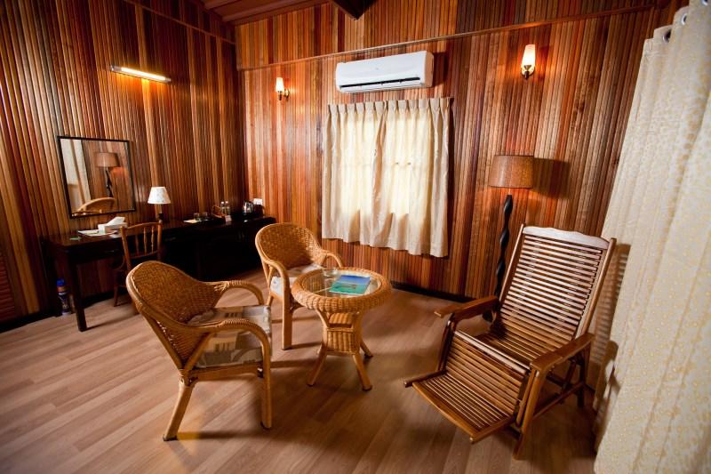 Beach Villa sitting area.