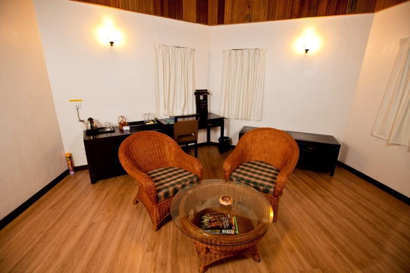 Hexa Villa sitting area.