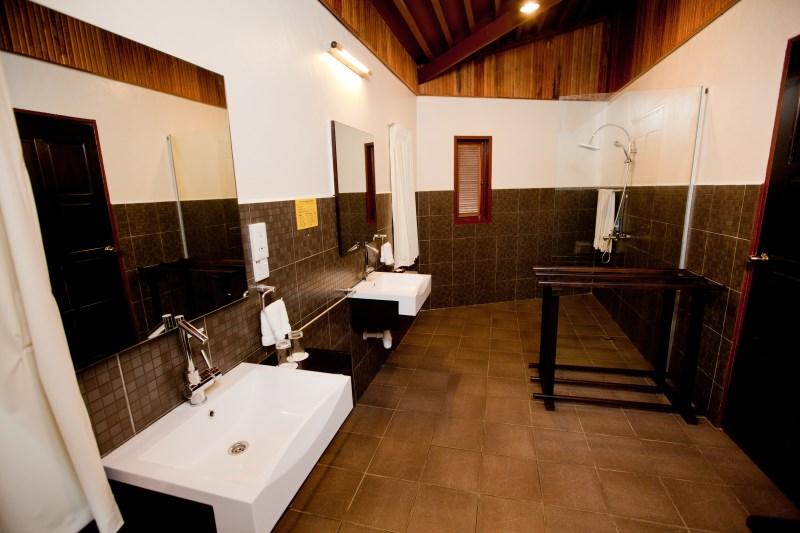 Hexa Villa washroom.