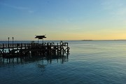 Serene sight of the Jetty at dawn.