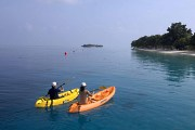 Go kayaking in the evening after your boat dives.