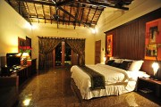 View of the Villa bedroom.