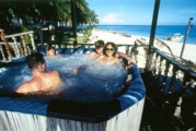 Hop right in the jacuzzi when you're not in a wetsuit.