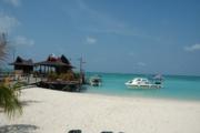 Resort pier.