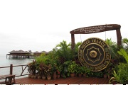 Entrance to Sipadan Water Village Resort
