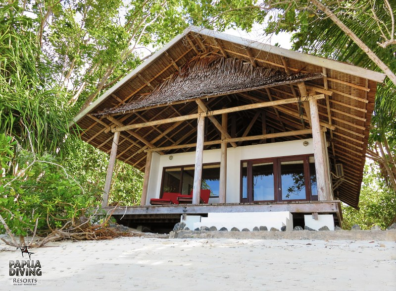 Sentani Cottage exterior view.