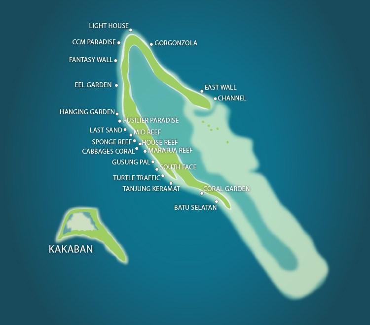 Maratua Island Dive Sites