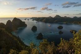 View of Wayag Island