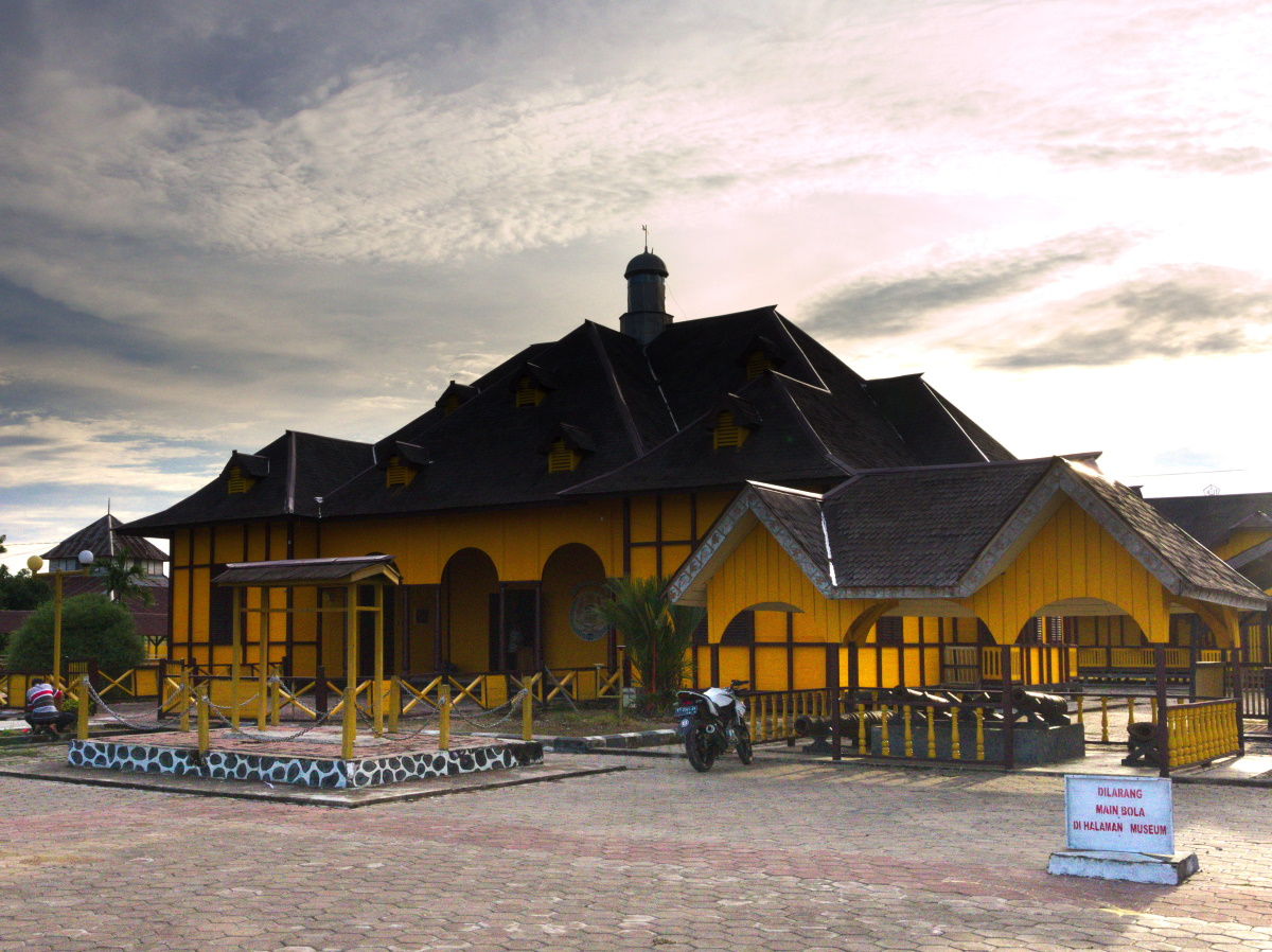 Sambaliung Palace, Berau, has been converted into a museum.